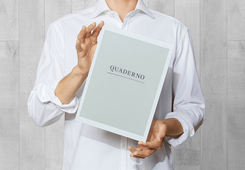 電子ペーパーノート「クアデルノ」